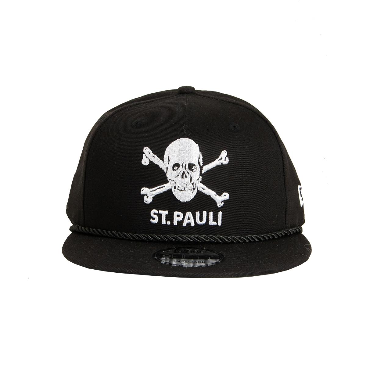 "FC St. Pauli - Cap 9fifty TK ""Kordel"" - schwarz"