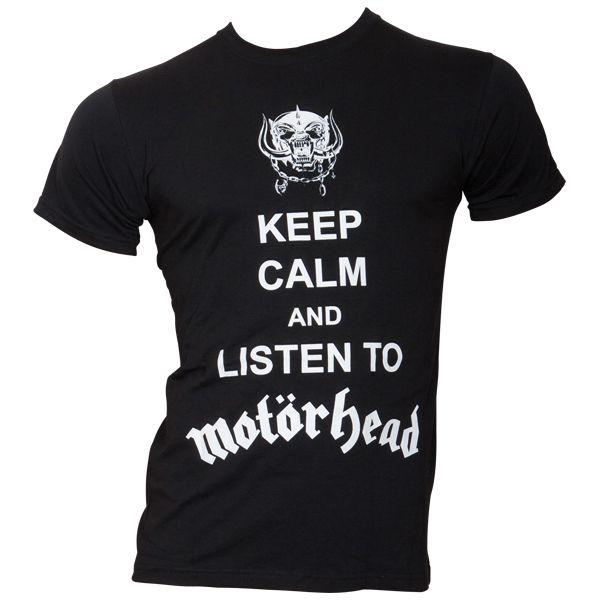 Motörhead - T-Shirt Keep Calm - schwarz