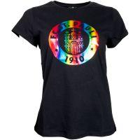 FC St. Pauli -  Damen T-Shirt Holographic Logo - schwarz