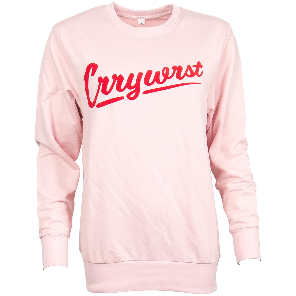 CRRYWRST - Sweatshirt Crrywrst Limtied Edition - rosa-rot