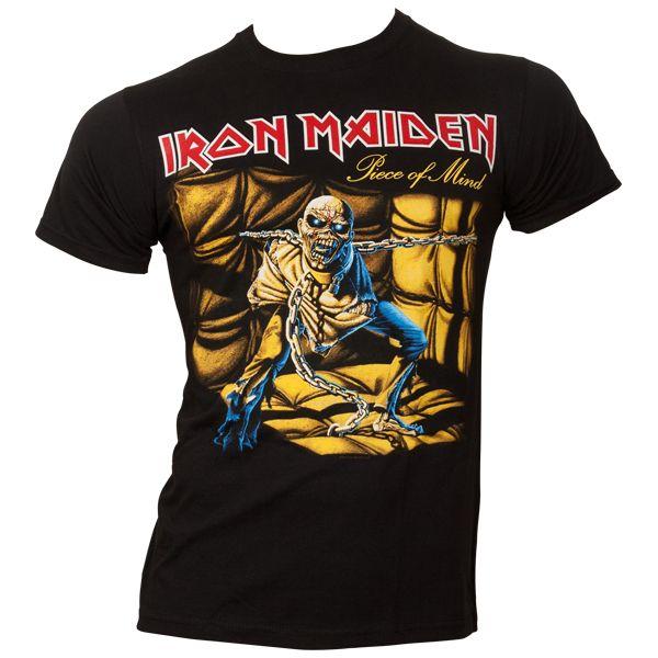 Iron Maiden - T-Shirt Piece Of Mind - schwarz