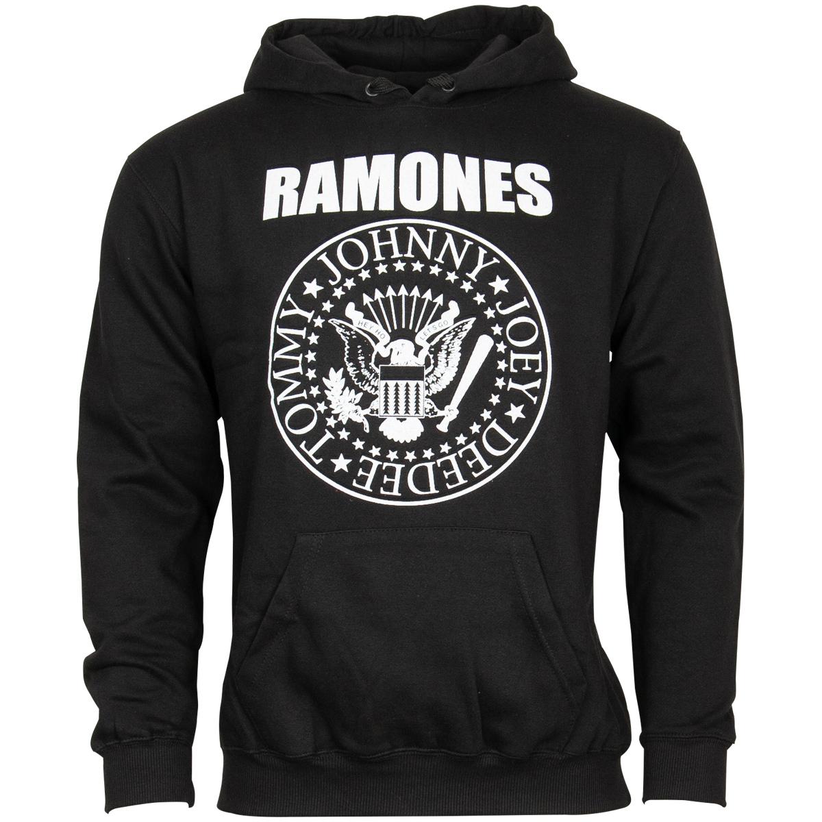 The Ramones - Kapuzenpullover Presidential Seal - schwarz