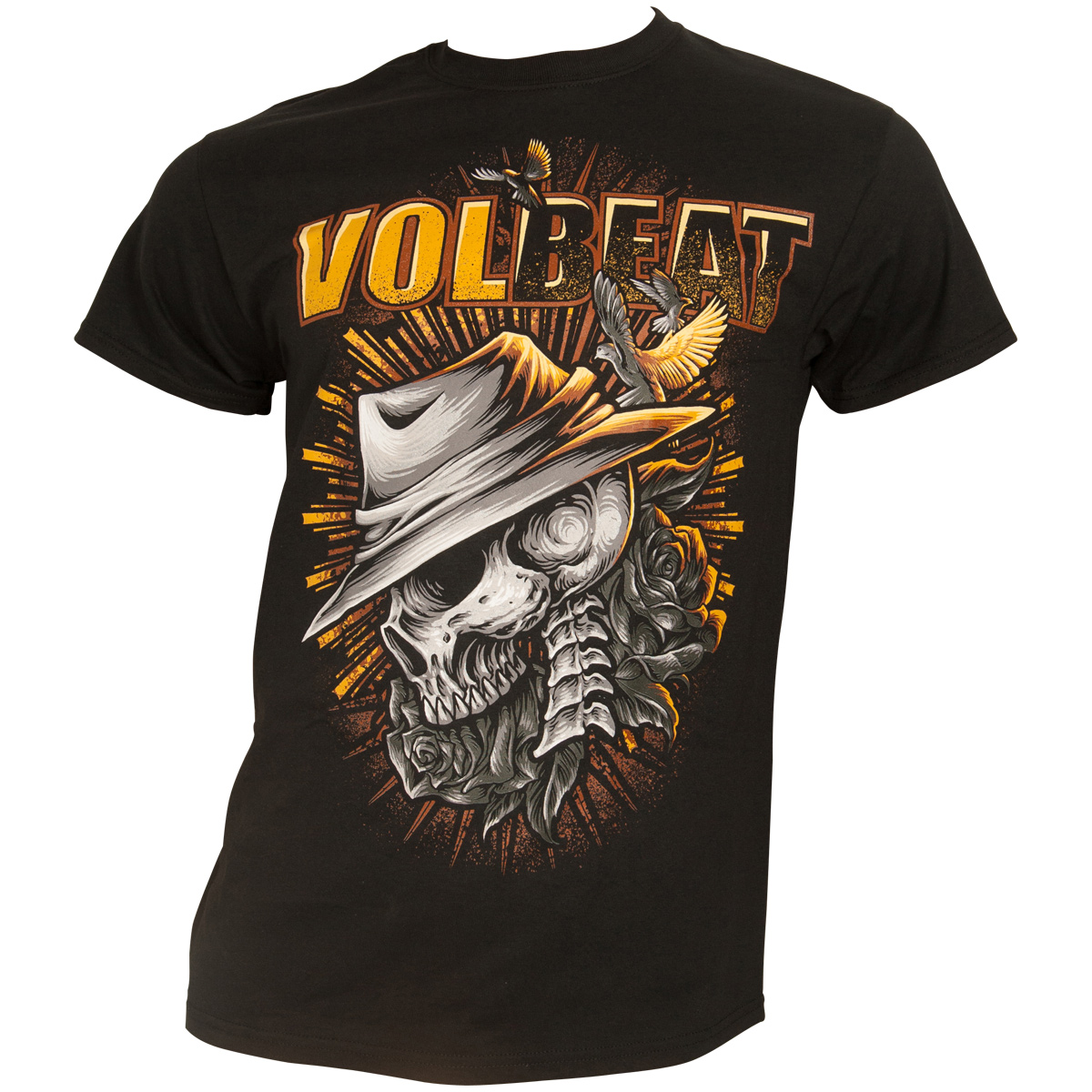 Volbeat - T-Shirt Heaven and Hell - schwarz