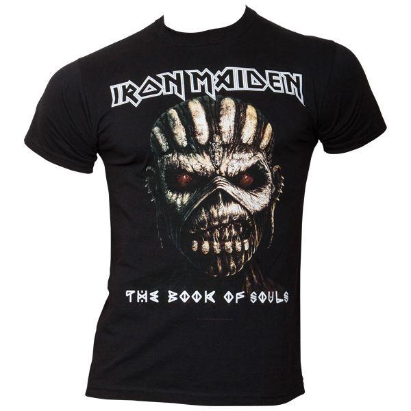 Iron Maiden - T-Shirt Book Of Souls - schwarz