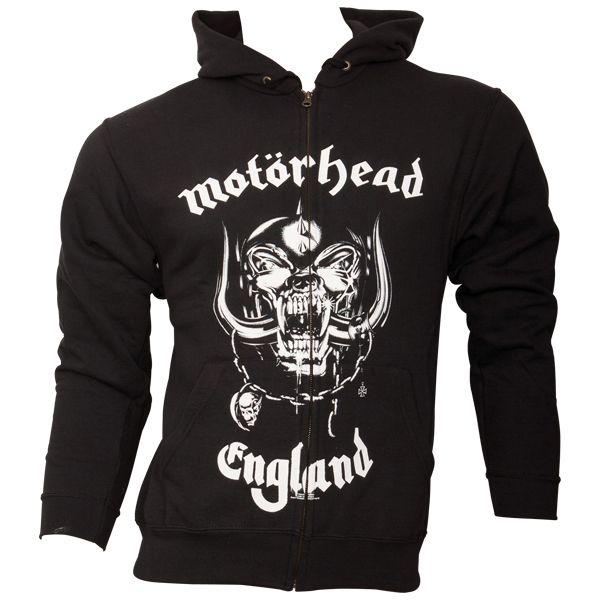 Motörhead - Kapuzenjacke Everything Louder Than - schwarz