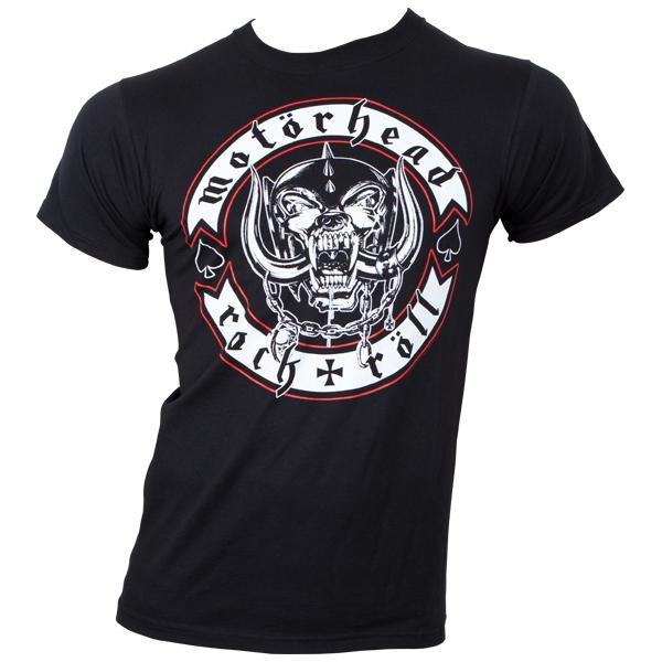 Motörhead - T-Shirt Biker Badge - schwarz