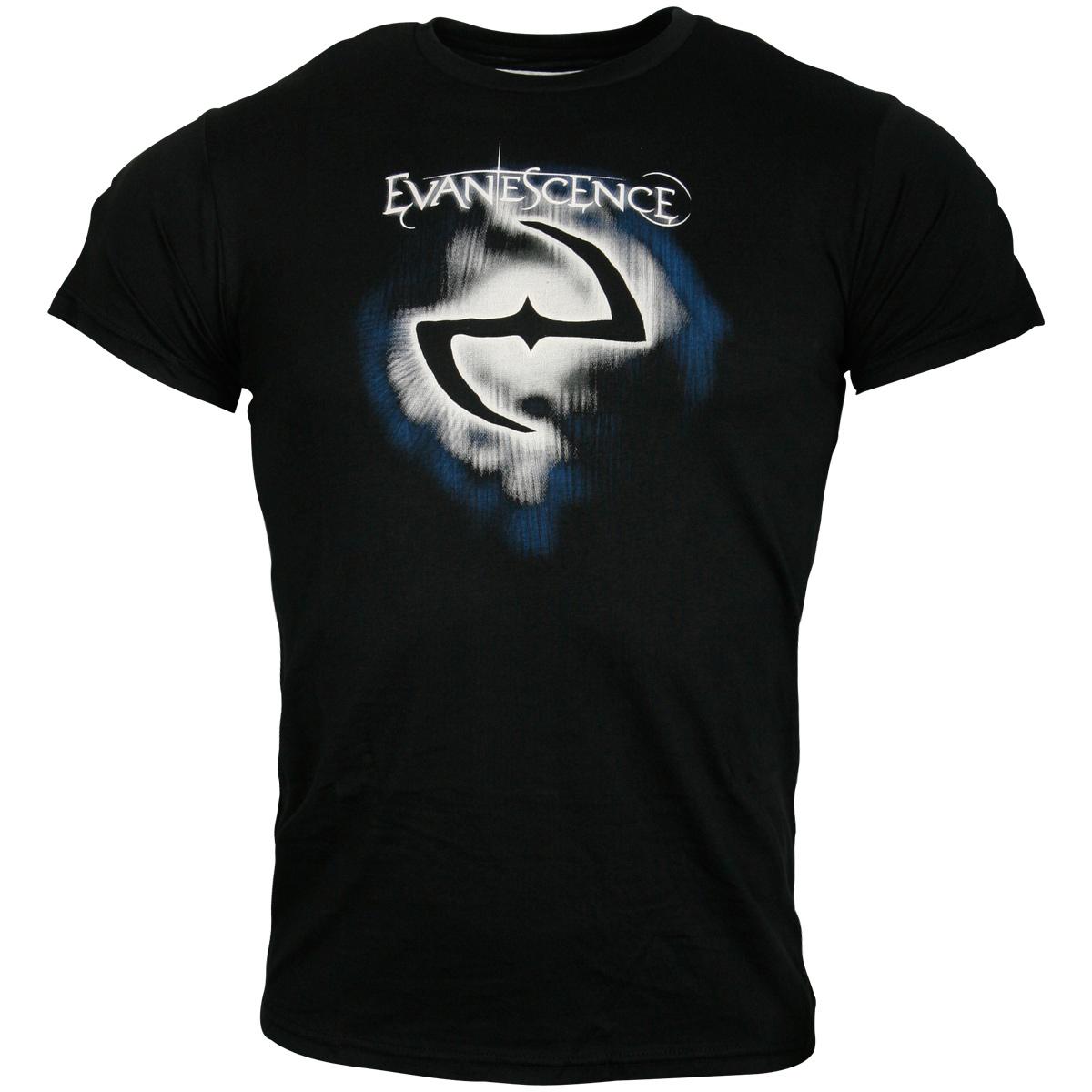 Evanescence - T-Shirt Classic Logo - schwarz