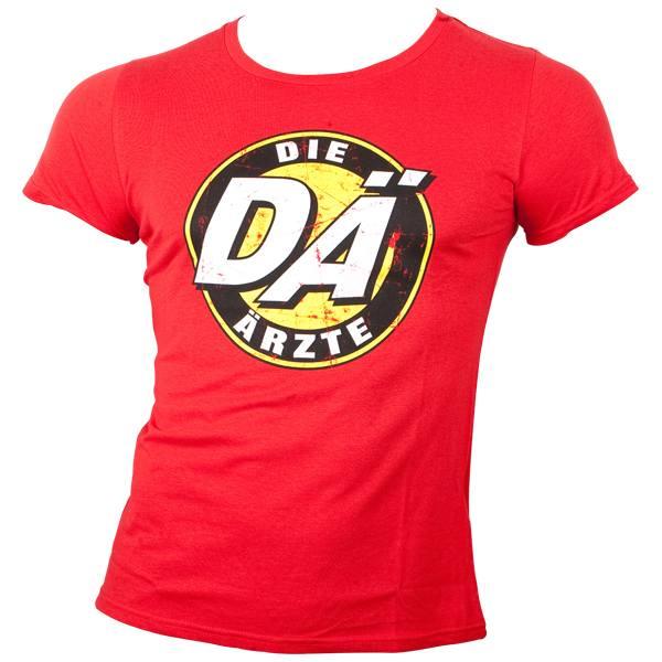 die ärzte - T-Shirt Logo - rot