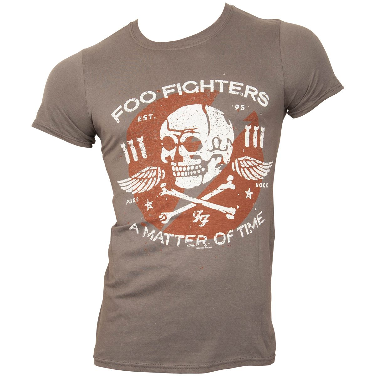 Foo Fighters - T-Shirt Matter Of Time - grau