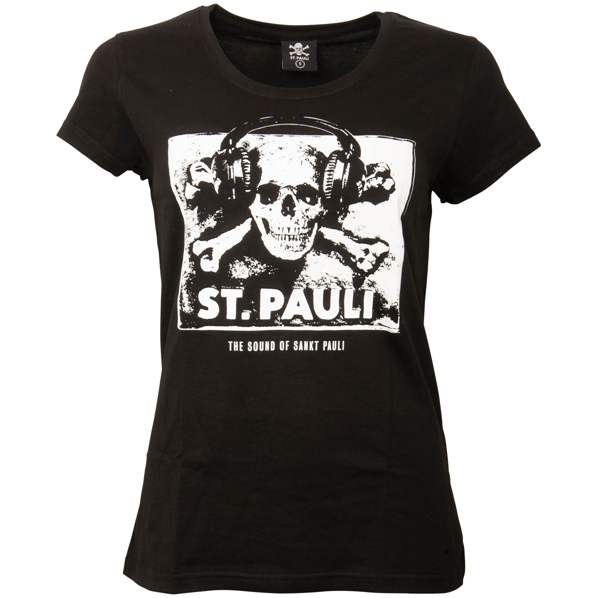 FC St. Pauli - Damen T-Shirt Sound - schwarz