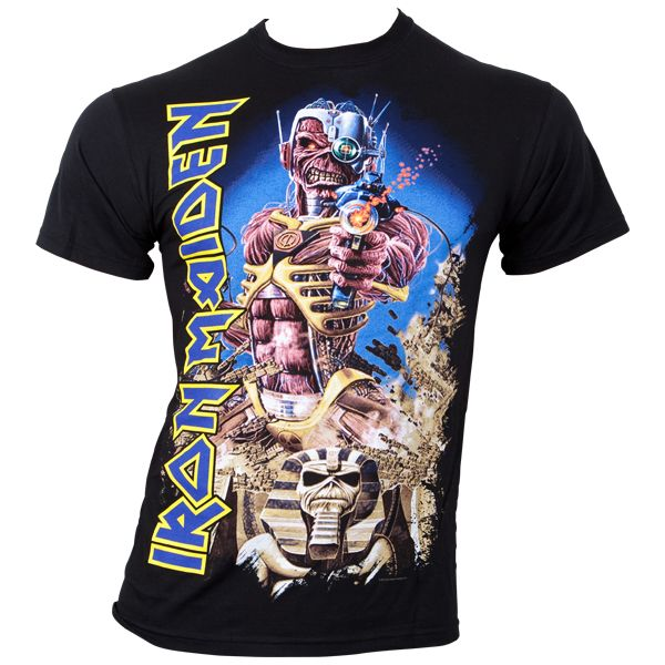 Iron Maiden - T-Shirt Somewhere Back In Time - schwarz