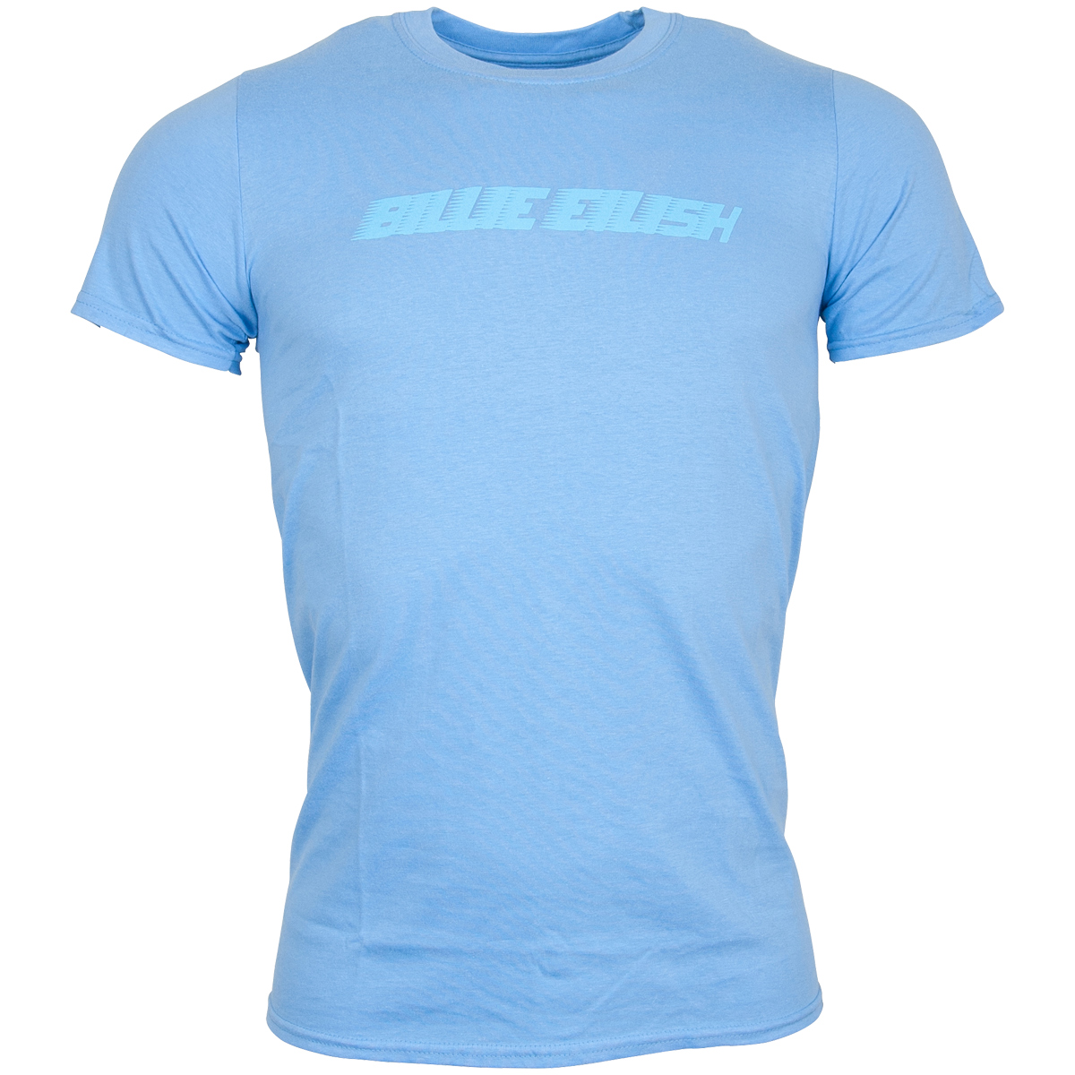 Billie Eilish - T Shirt Racer Logo - blau
