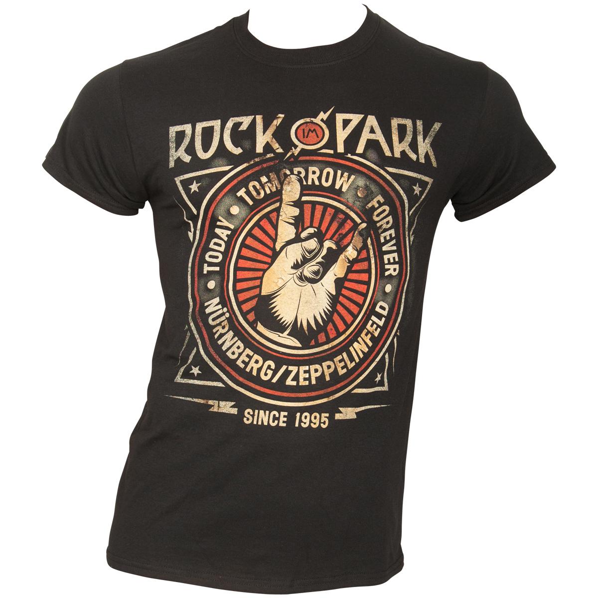 Rock im Park 2018 - T-Shirt Rock Crest - schwarz / limitiert