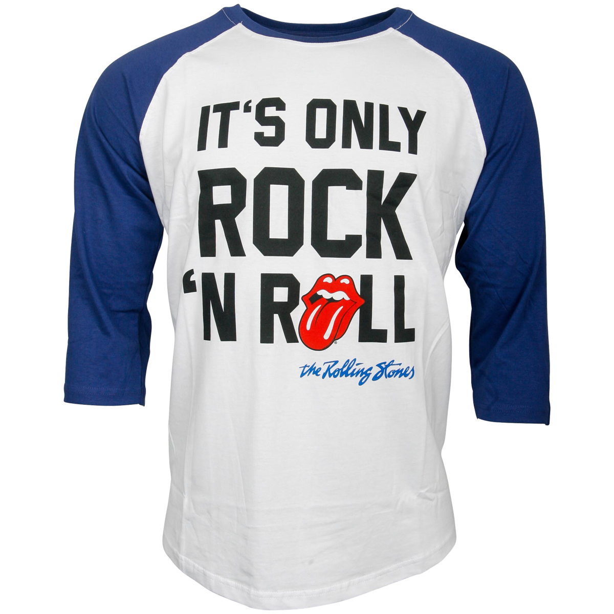 The Rolling Stones - Baseball Shirt It's Only Rock N Roll - multicolor
