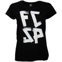 FC St. Pauli - Damen T-Shirt FCSP - schwarz