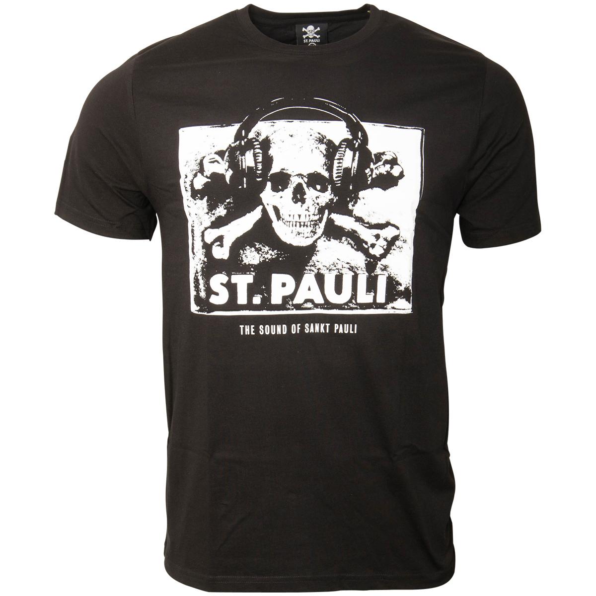 FC St. Pauli - T-Shirt Sound - schwarz
