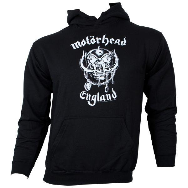 Motörhead - Kapuzenpullover England - schwarz