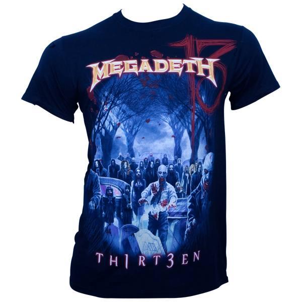 Megadeth - T-Shirt Graveyard - schwarz