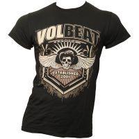 Volbeat - T-Shirt Dark Skullwing - schwarz