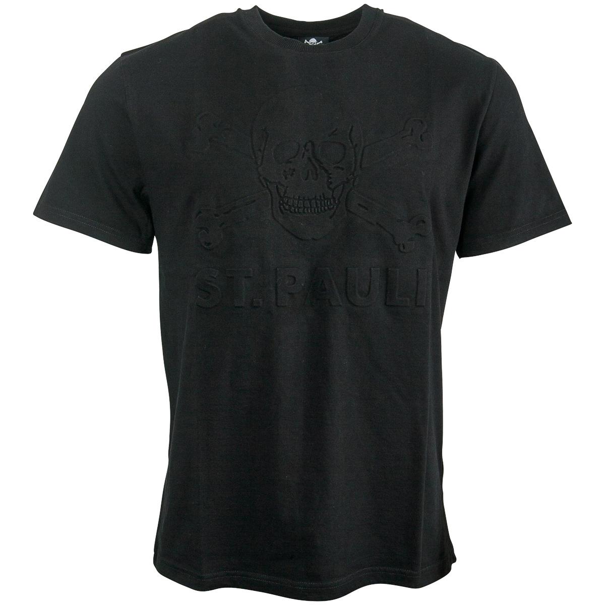 FC St. Pauli - T-Shirt 3D Black 2019 - schwarz