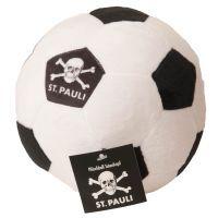 FC St. Pauli - Plüschball Totenkopf - schwarz-weiß
