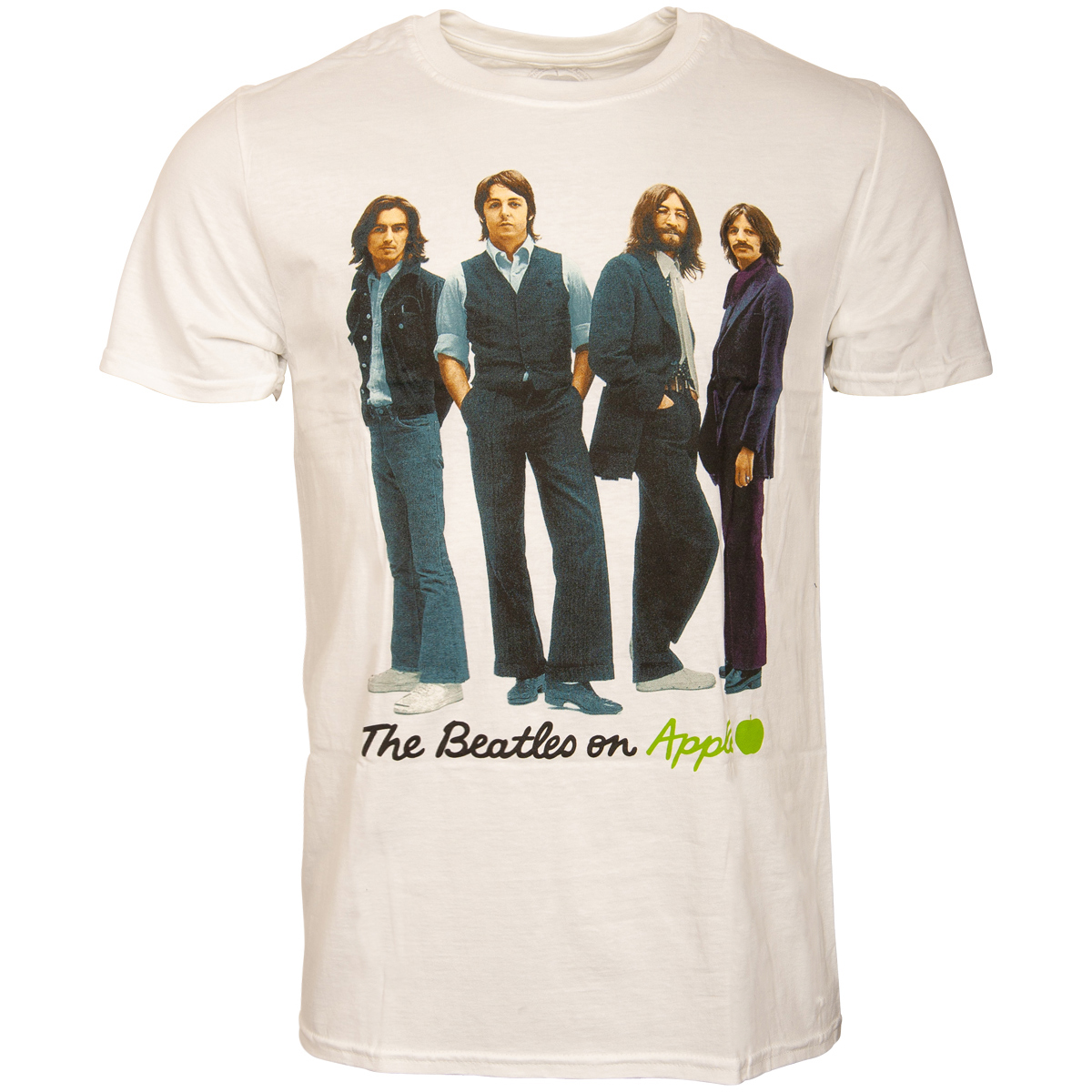 The Beatles - T-Shirt Iconic Image - weiß