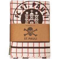 FC St. Pauli - Set 3 Geschirrhandtücher mit Logo oder Totenkopf