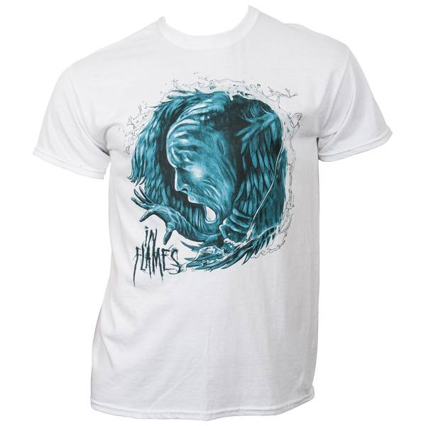 In Flames - T-Shirt Siren Charms - weiß