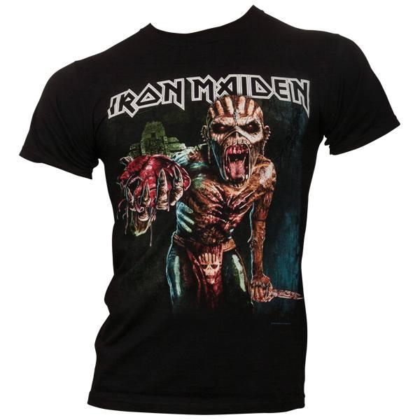 Iron Maiden - T-Shirt Book Of Souls European Tour 2016 - schwarz