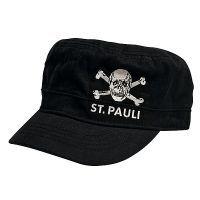 FC St. Pauli - Cap Army Totenkopf - schwarz