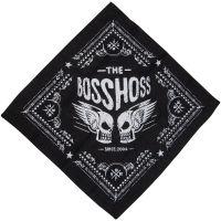 The BossHoss - Bandana Flying Skull - schwarz