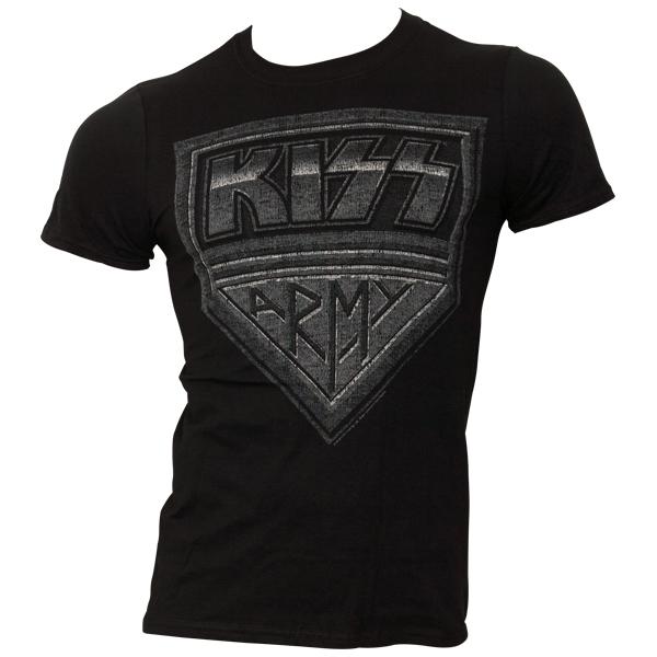 Kiss - T-Shirt Army Distressed - schwarz