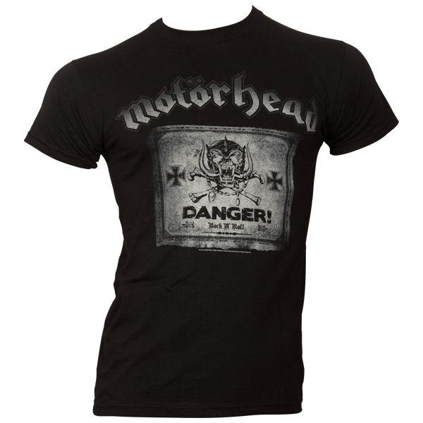Motörhead - T-Shirt Danger - schwarz