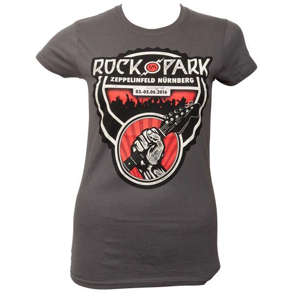 Offizielles Rock im Park 2016 - T-Shirt Frauen - grau