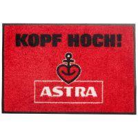 Astra - Fußmatte - Kopf Hoch - rot
