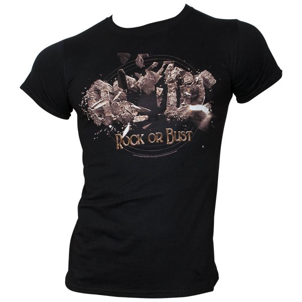 AC/DC - T-Shirt Rock Or Bust Explosion - schwarz