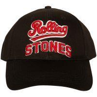 The Rolling Stones - Baseball Cap Team Logo - schwarz