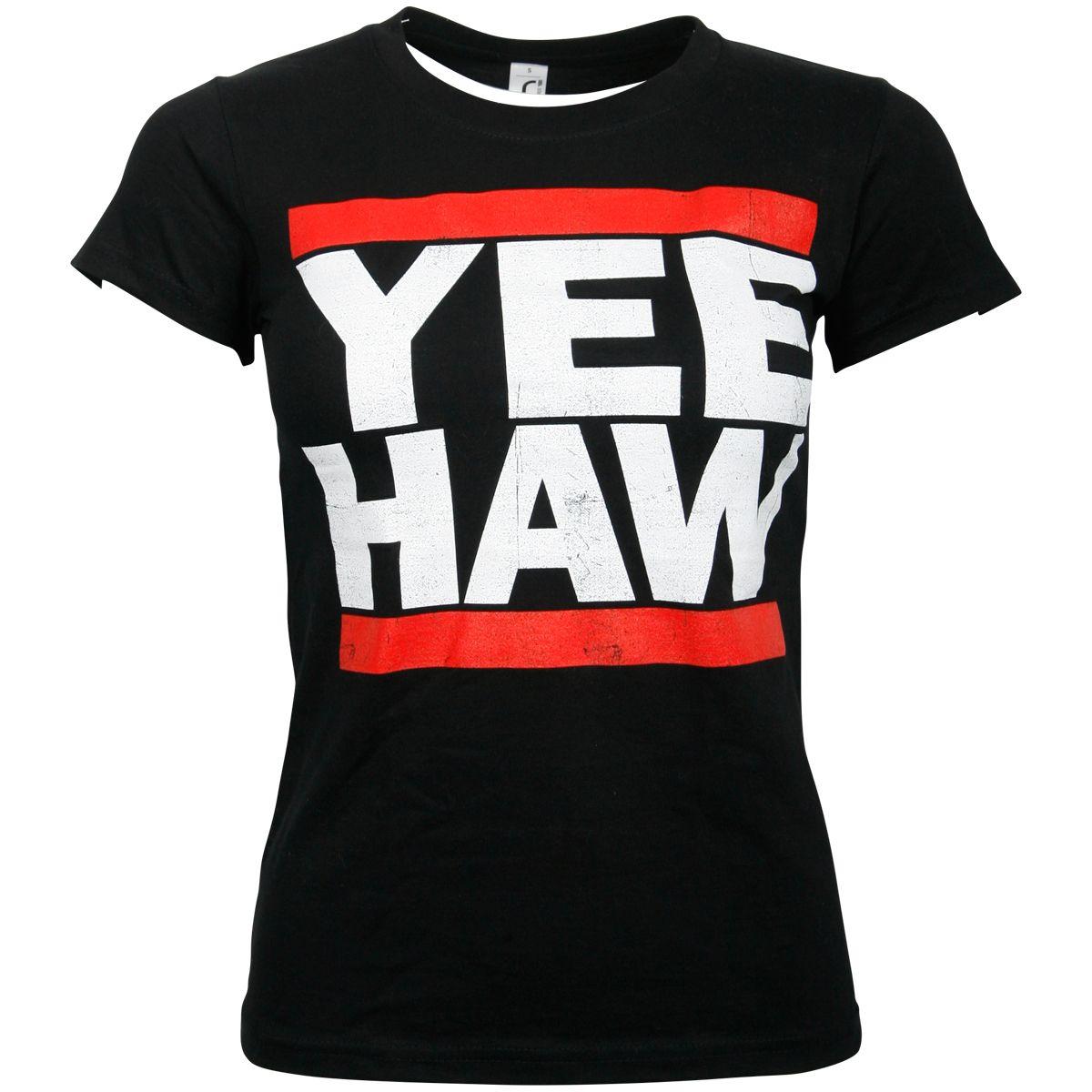 The Bosshoss - Damen T-Shirt Yee Haw - schwarz