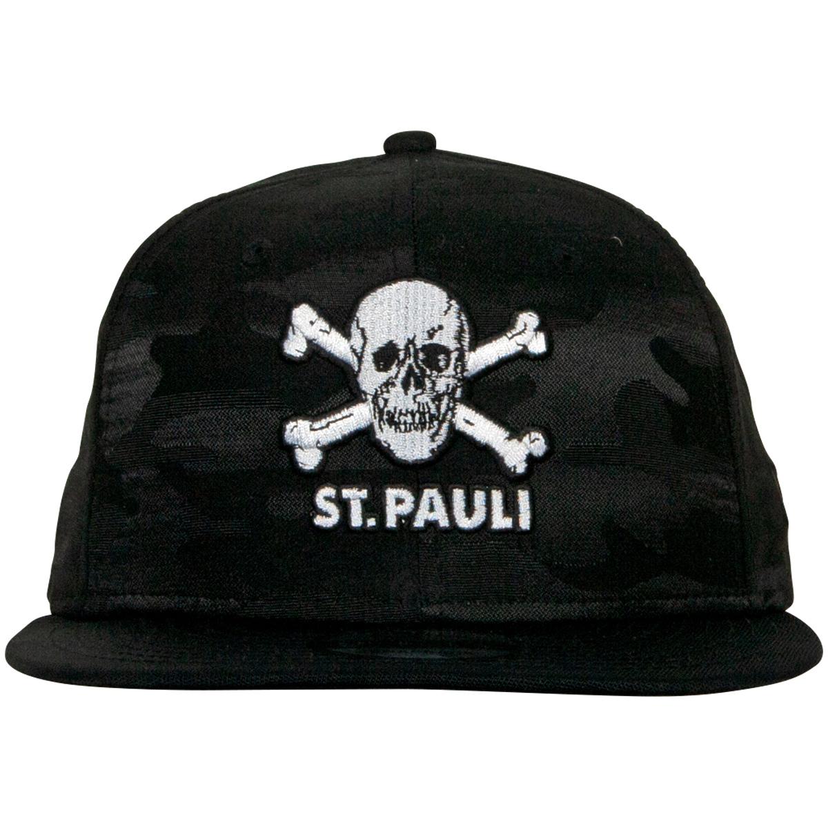 FC St. Pauli - NewEra Kappe Camouflage Totenkopf