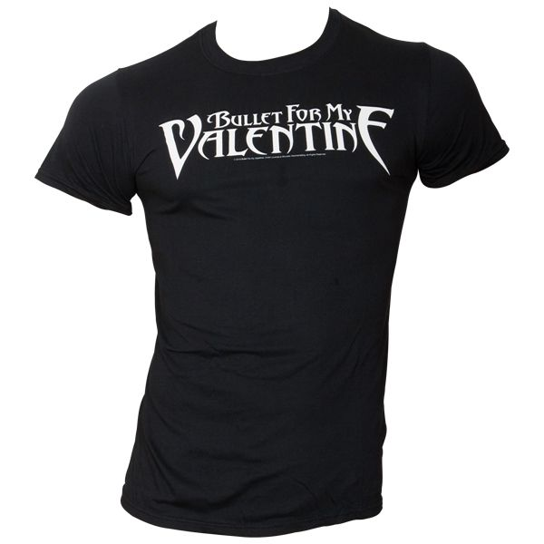 Bullet For My Valentine - T-Shirt Logo - schwarz