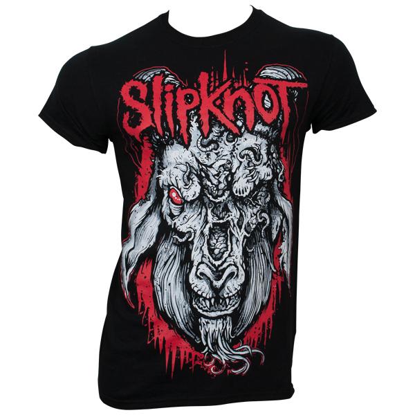 Slipknot - T-Shirt Rotting Goat - schwarz