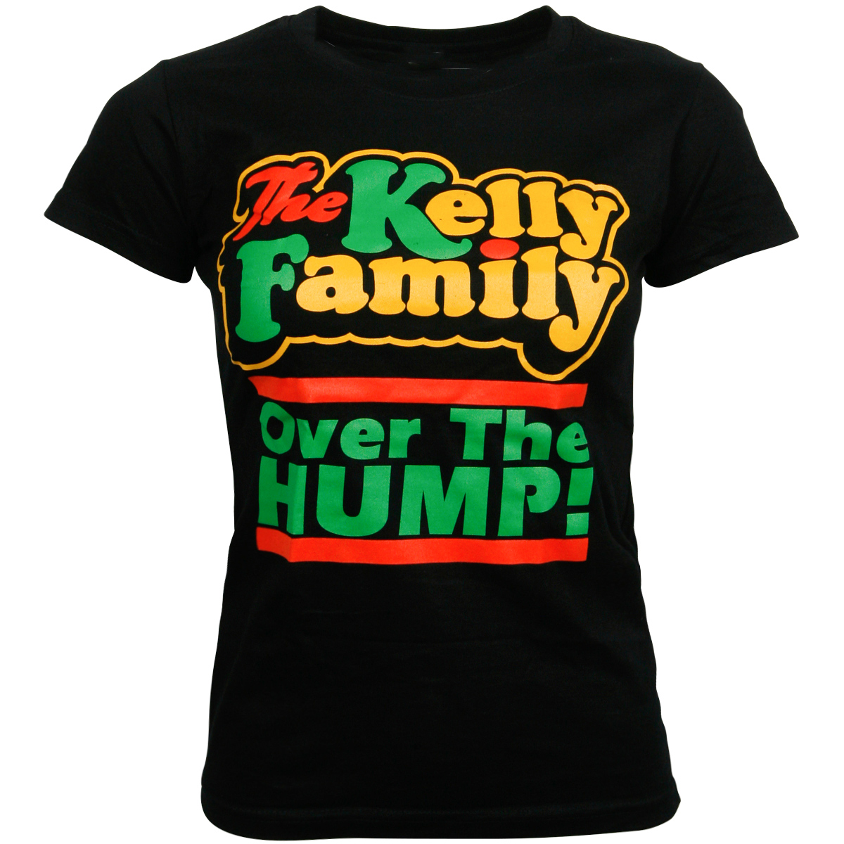 The Kelly Family - Damen T-Shirt Over the Hump - schwarz