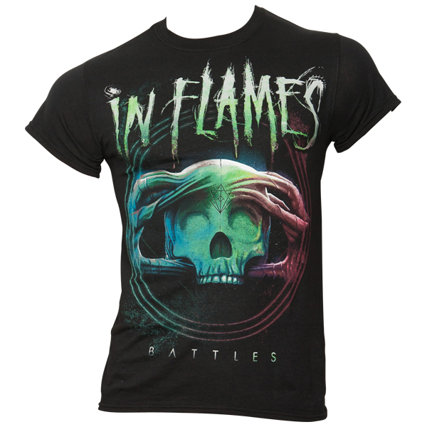 In Flames - T-Shirt Battles Circle - schwarz