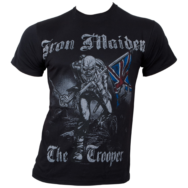 Iron Maiden - T-Shirt Skeched Trooper - schwarz