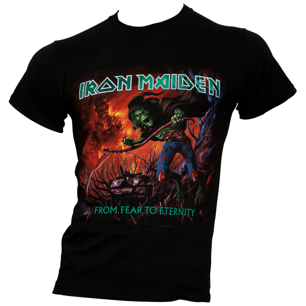 Iron Maiden - T-Shirt From Fear To Eternity Album - schwarz