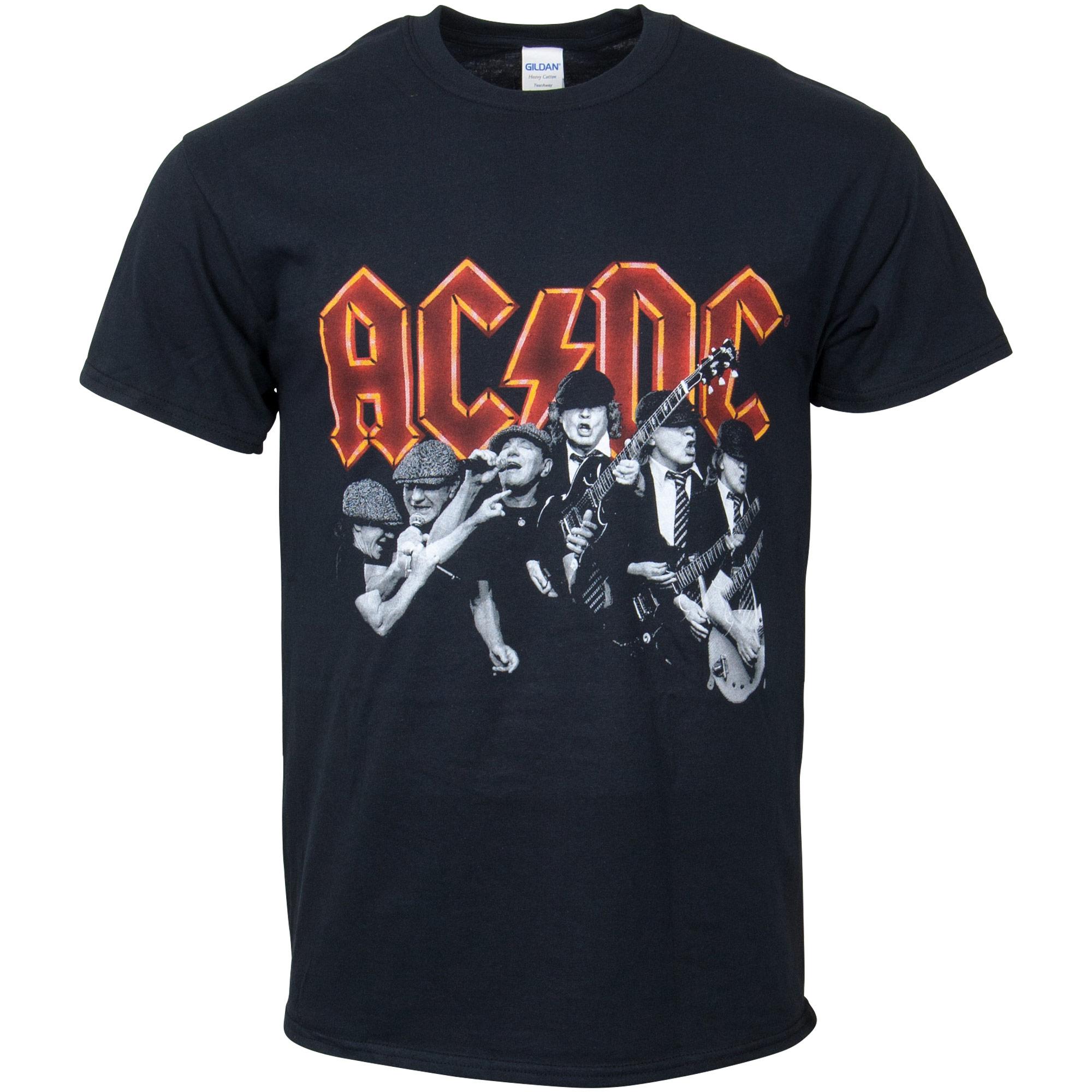 AC/DC - T-Shirt Brian & Angus - schwarz