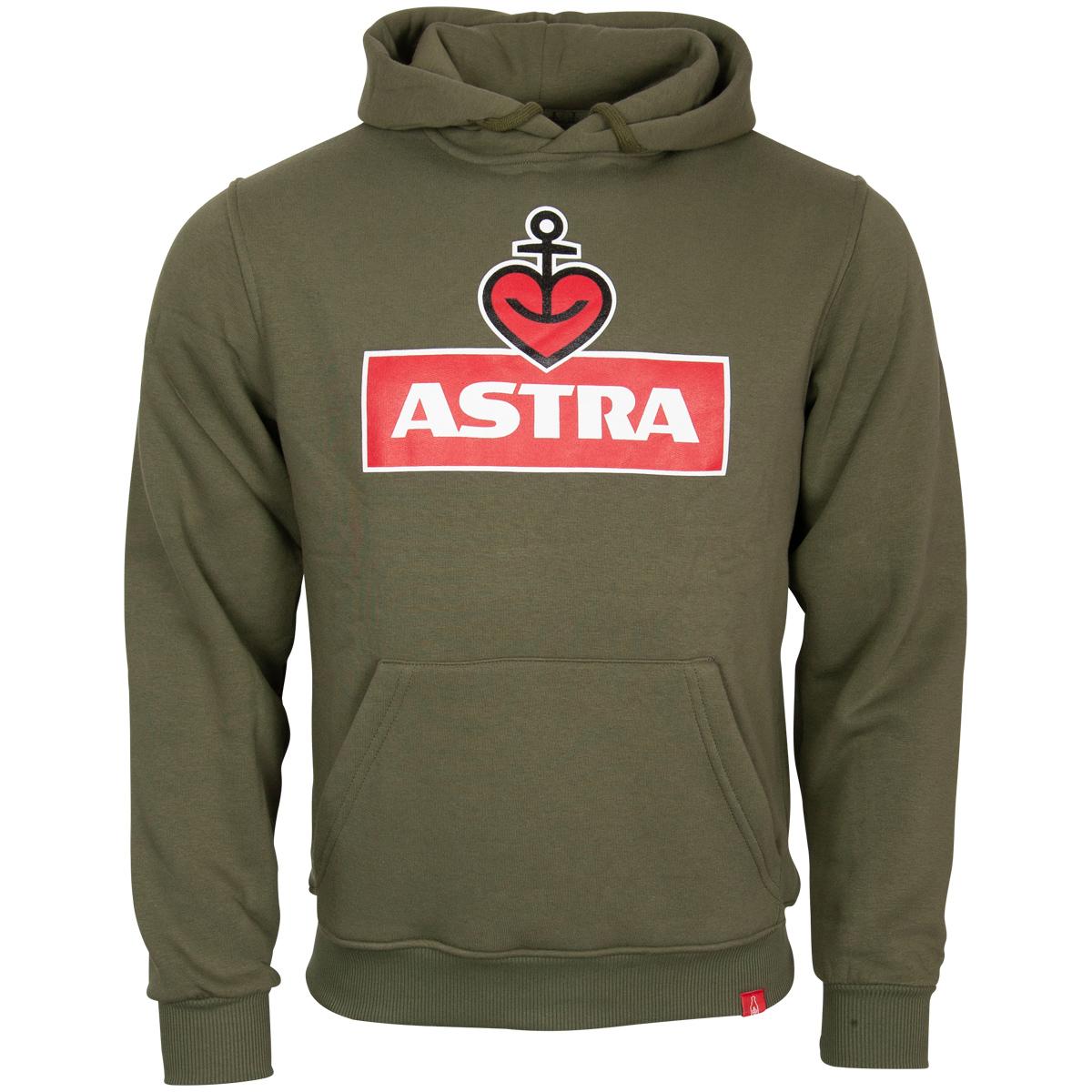 Astra - Kapuzenpullover Logo - unisex - oliv