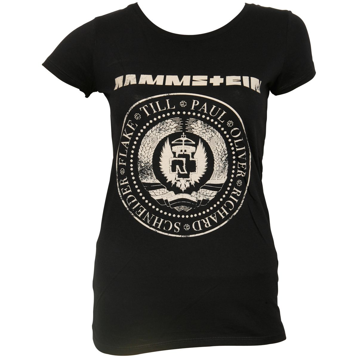 Rammstein - Damen Shirt Est. 1994 - navy