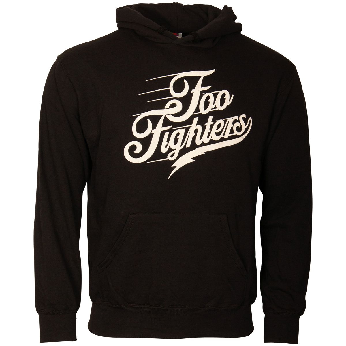 Foo Fighters - Kapuzenpullover Logo Text - schwarz