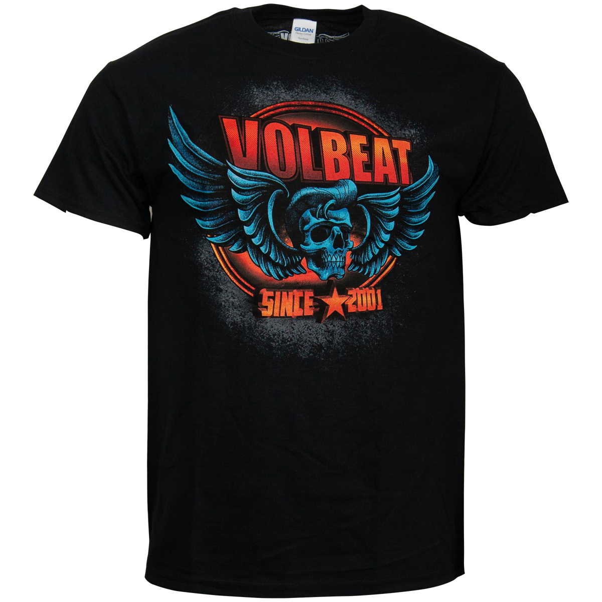Volbeat - T-Shirt Dimension Skullwing - schwarz
